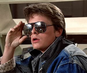 Back to the Future, gif, and marty mcfly image