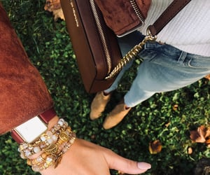 arm candy, jewelry, and fall outfit image