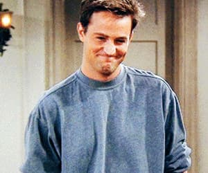 90s, chandler bing, and show image