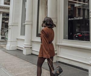 blogger, camel, and fashion image