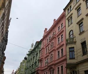 czech, pink, and prague image