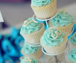 cupcakes and turquoise image
