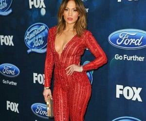 Jennifer Lopez, jlo, and red aesthetic image