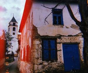 church, kosovo, and town image