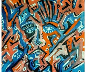 art, outsider art, and paintings image