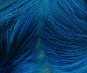 aesthetic, blue hair, and OC image