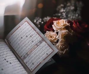 dine, flowers, and islam image