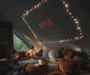 netflix, home, and autumn image