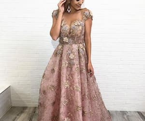 prom dresses, prom dresses with sleeve, and vintage prom dresses image