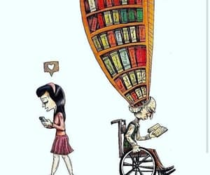 book, love, and life image