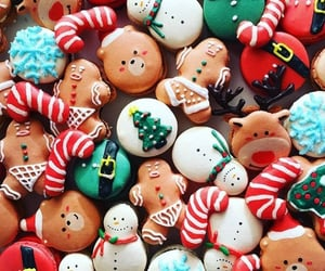 baking, candies, and candy canes image