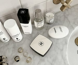 accessories, bathroom, and chanel image