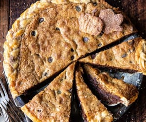 chocolate chip, dessert, and food image