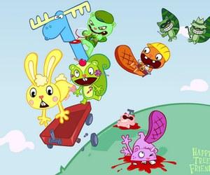 cartoon, happy tree friends, and sick but i love it! image