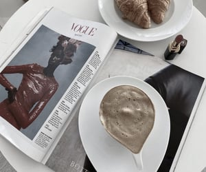 coffee, drink, and vogue image