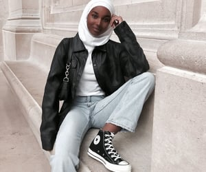 beauty, converse, and denim image