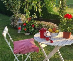 aesthetic, picnic, and cottagecore image
