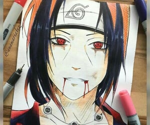 drawing and itachi image