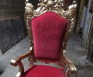 satan, red, and grunge image