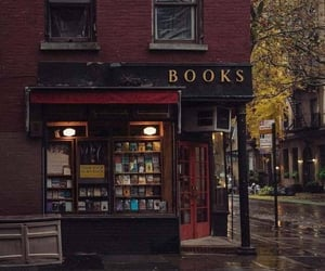 book, bookstore, and aesthetic image