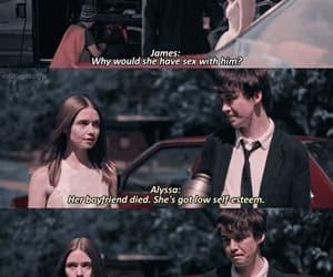Alyssa, james, and scene image