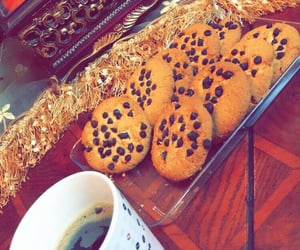 coffee, cookies cookie, and yummy food delicious image