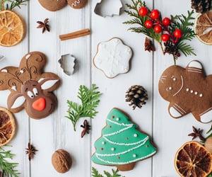 christmas cookies, Cinnamon, and winter image