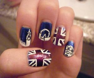 nails, london, and uk image