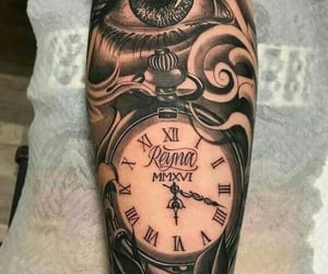 arm tattoo, art, and beauty image