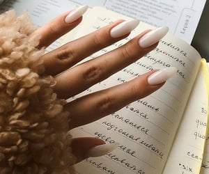 book and nails image
