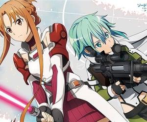 anime, asuna, and anime girls image