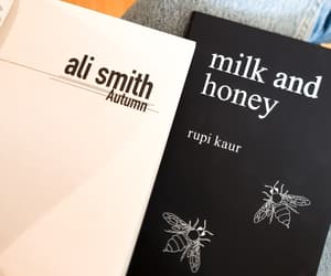 autumn, words, and milk and honey image