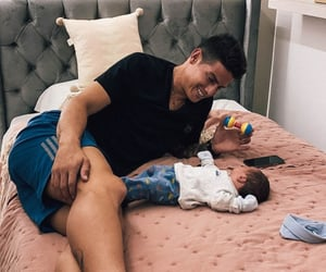 baby, james rodriguez, and daddy image