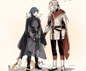 anime, yaoi, and three houses image