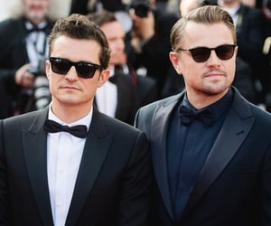 actors, leonardo dicaprio, and orlando bloom image