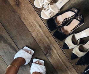 chanel, heels, and style image