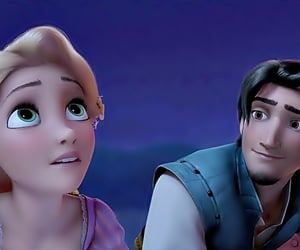 tangled, disney, and love image