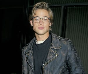 brad pitt, Hot, and young image