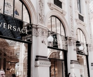 Versace, building, and aesthetic image