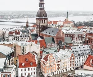 autumn, city, and europe image