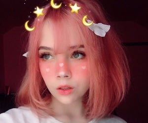 colorful, hair, and tumblr image