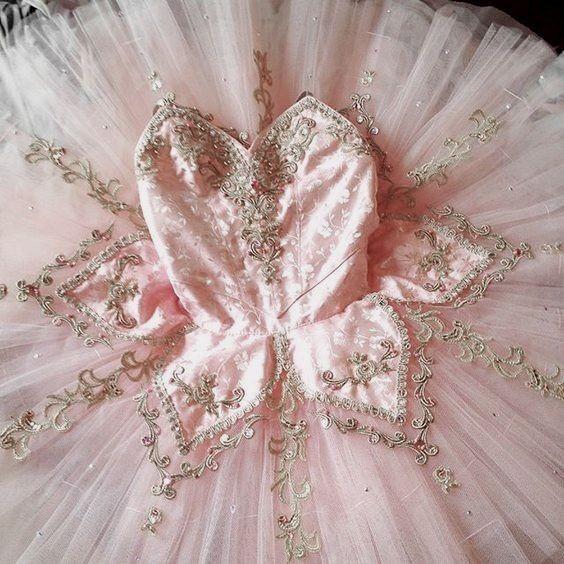 dress, pink, and ballerina image