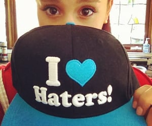 hat, ariana grande, and instagram image