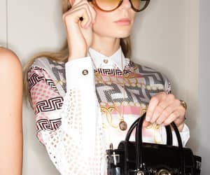 backstage, chic, and Versace image