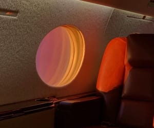 aesthetic, airplane, and travel image