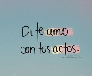 this is love, frases en español, and true! image