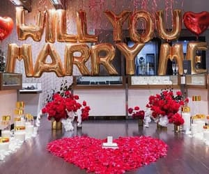 marry me, proposal, and relationships image