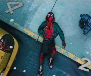 animation, spiderman, and miles morales image
