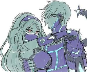 couple, mobile legends, and v.e.n.o.m squad image