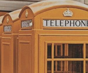 yellow, aesthetic, and telephone image